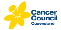 Cancer Council QLD Logo